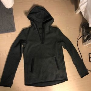 Lululemon pullover with half zip and front pocket